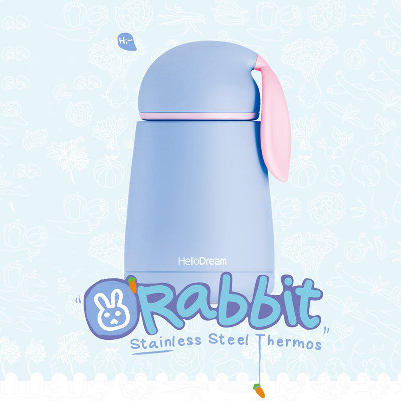 300ML Rabbit Vacuum Cup - BLUE
