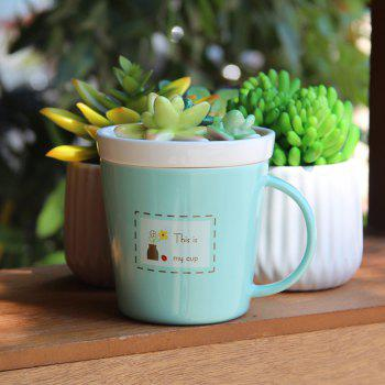 275ML Plants Ceramic Cup - APPLE SLICE APPLE SLICE