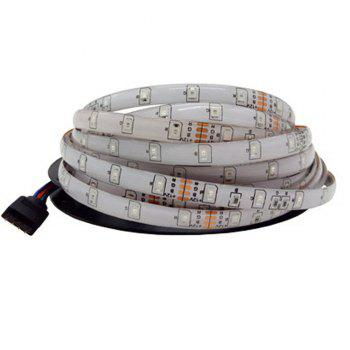 Brelong 10M 2835SMD RGB 600 LED RGB Non-waterproof Strip Light + Controller + Cable Connector + Adapter 3A EU / US 100 - 240V - RGB US