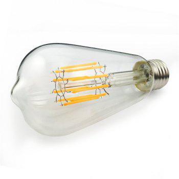 SUPli 10W ST64 Edison Warm White 100W Equivalent Vintage LED Filament Bulb with 360 Degree Beam Angle -  WARM WHITE