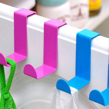 DIHE Cute Colorful S-hooks for Kitchen Wall Storage 2PCS - BLUE