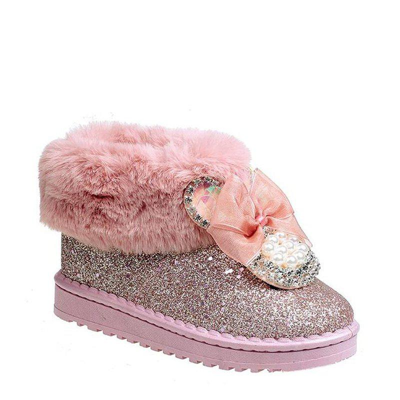 Warm Cotton Shoes with A Korean Edition - PINK 38