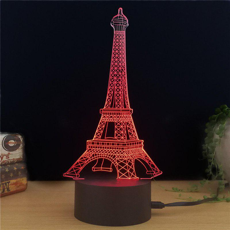 M.Sparkling TD010 Creative Building 3D LED Lamp m sparkling td303 creative cartoon 3d led lamp