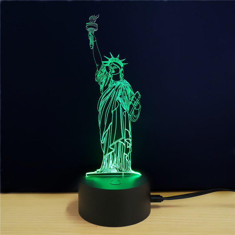 M.Sparkling TD077 Creative Buliding 3D LED Lamp m sparkling td303 creative cartoon 3d led lamp