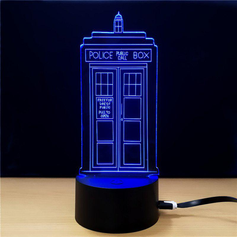 M.Sparkling TD292 Creative Buliding 3D LED Lamp m sparkling td303 creative cartoon 3d led lamp