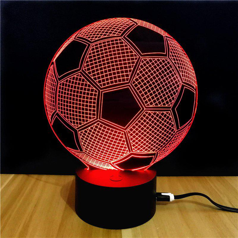 M.Sparkling TD045 Creative Sport 3D LED Lamp m sparkling td303 creative cartoon 3d led lamp
