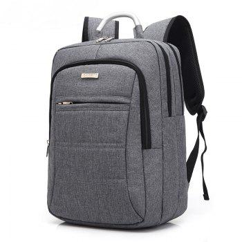 AUGUR Fashion Brand Men Women Backpack Laptop Notebook Travel School College for Teenager Students Bag -  GRAY