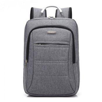 AUGUR Fashion Brand Men Women Backpack Laptop Notebook Travel School College for Teenager Students Bag - GRAY GRAY