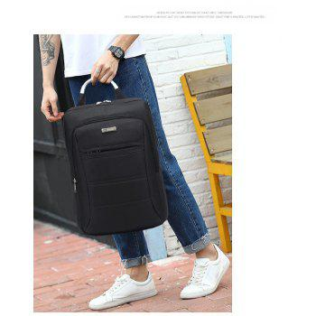 AUGUR Fashion Brand Men Women Backpack Laptop Notebook Travel School College for Teenager Students Bag - BLACK