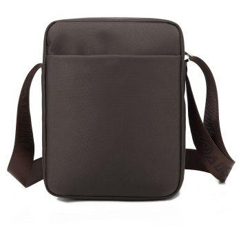 AUGUR Men's Shoulder Crossbody Bags Male Vintage Executive Briefcase for Documents Men Small Casual Bag -  COFFEE