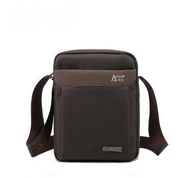 AUGUR Men's Shoulder Crossbody Bags Male Vintage Executive Briefcase for Documents Men Small Casual Bag - COFFEE COFFEE