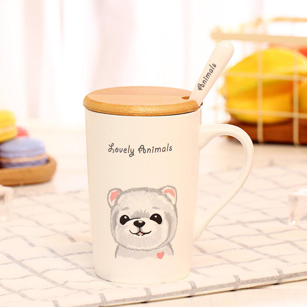 400ML Lustration Animal Cup - PINK