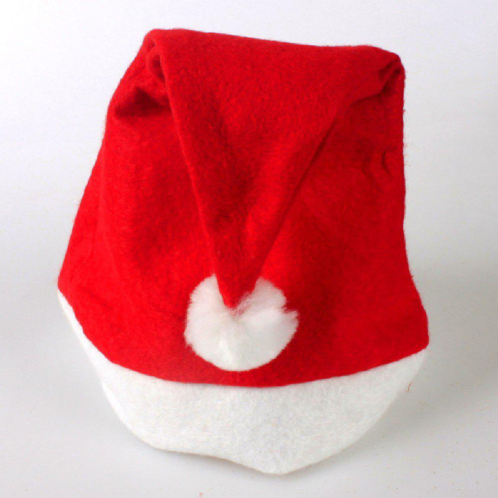 YEDUO Adult Kids Christmas Hats Santa Children Cap - RED ADULT