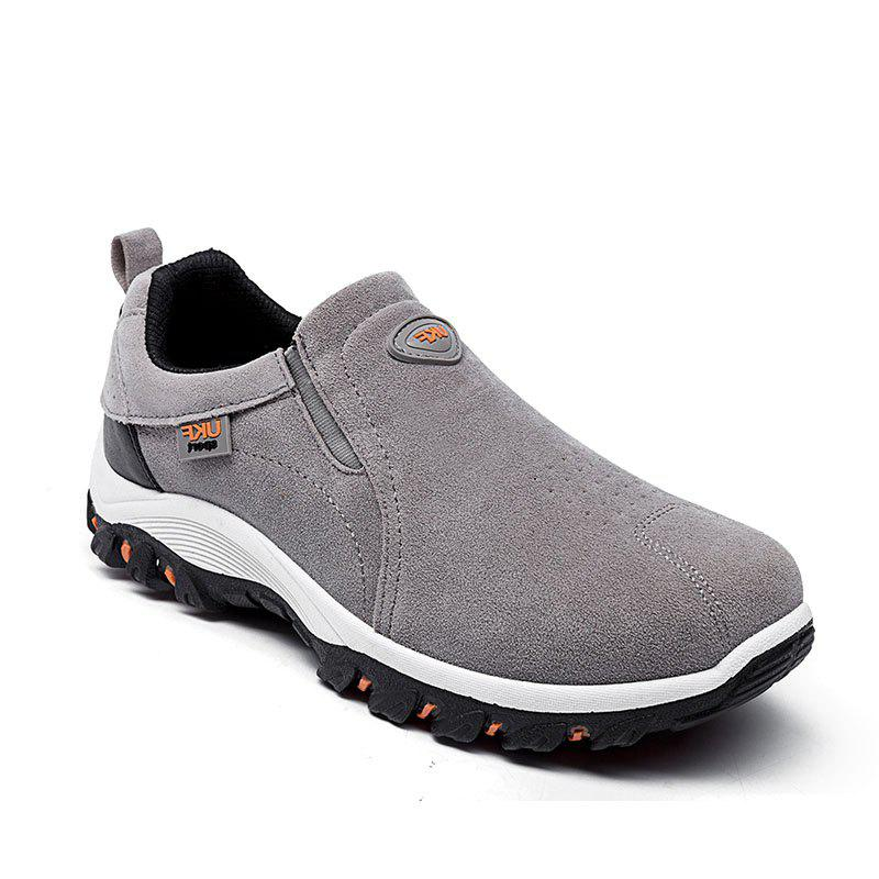 2017 outdoor slip on leisure shoes gray in casual shoes