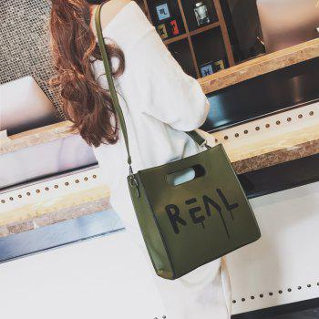 Women's New Fashion Casual Printing Handbag -  GREEN