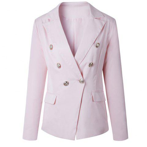 2017 New Style Small Suit Jacket - PINK S