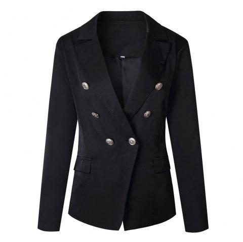 2017 New Style Small Suit Jacket - BLACK L