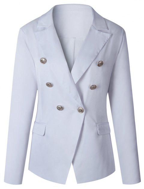 2017 New Style Small Suit Jacket - WHITE L