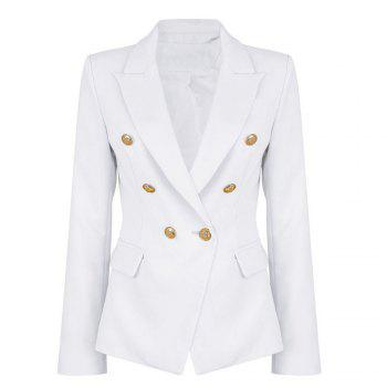 2017 New Style Small Suit Jacket - WHITE M