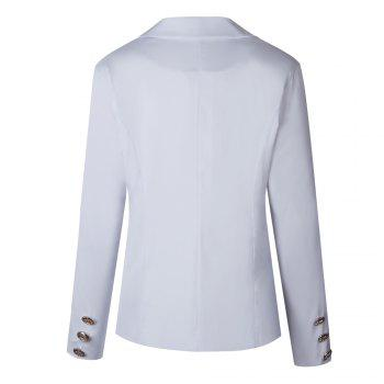 2017 New Style Small Suit Jacket - WHITE WHITE