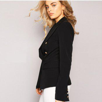 2017 New Style Small Suit Jacket - BLACK XL