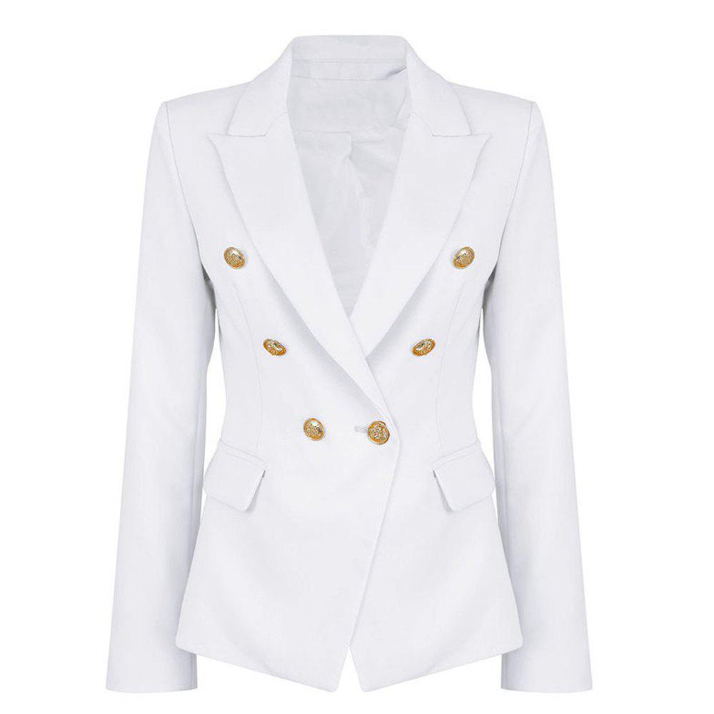 2017 New Style Small Suit Jacket - WHITE S