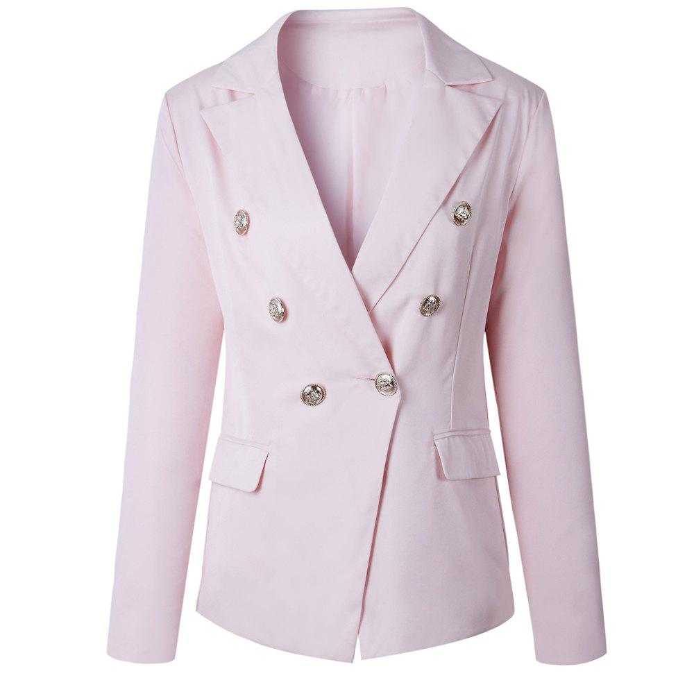 2017 New Style Small Suit Jacket - PINK XL