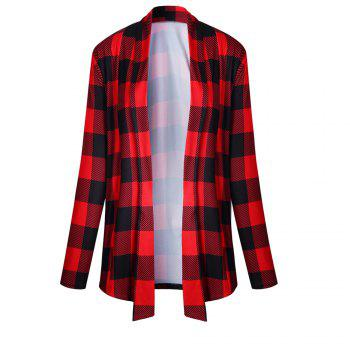 2017 New Autumn Style Plaid Tops Coat