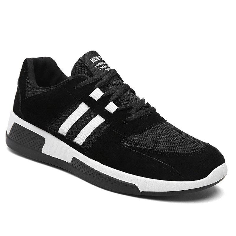 Winter Warm Fashion Leisure Shoes - BLACK 44