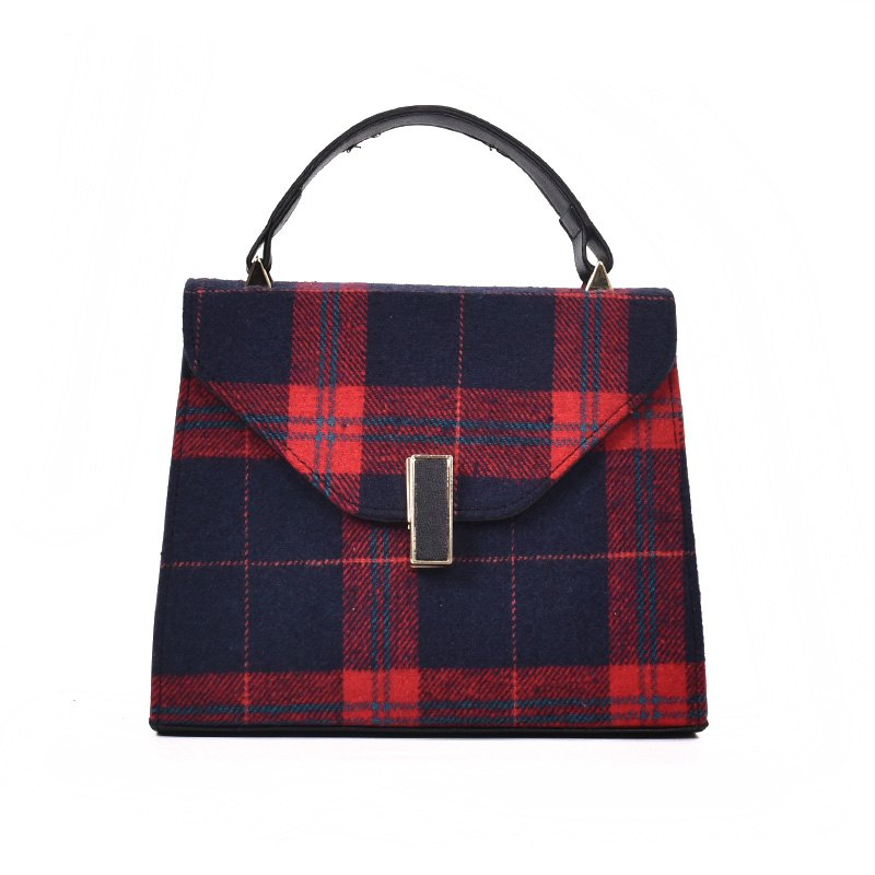 Small Size Vintage Fashion Casual Handbag for Women - RED
