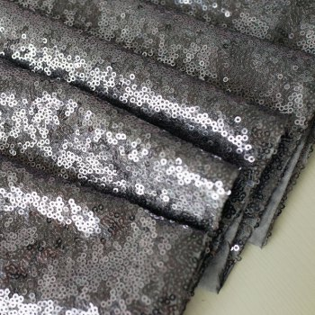 Lmdec 17YLP02 Sequin Table Runner - GRAY
