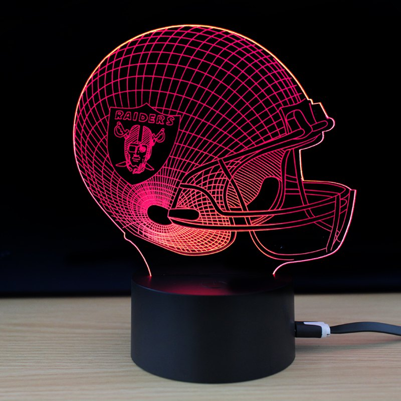 M.Sparkling TD281 Creative Sport 3D LED Lamp m sparkling td303 creative cartoon 3d led lamp