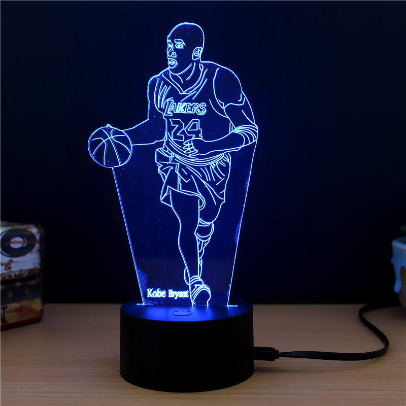 M.Sparkling TD268 Creative Character 3D LED Lamp m sparkling td303 creative cartoon 3d led lamp