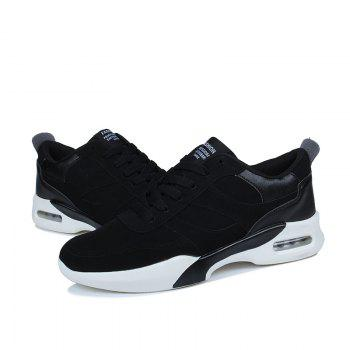Men Outdoor New Winter Autumn Fashion Warm Lace Up Casual Shoes - BLACK BLACK