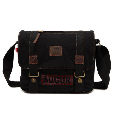 AUGUR Brand Men Messanger Bags High Quality Canvas Shoulder Male Army Military Crossbody Tote Casual Travel Bag - COFFEE