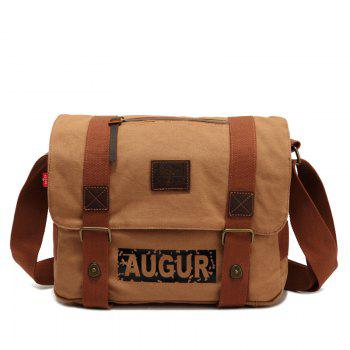 AUGUR Brand Men Messanger Bags High Quality Canvas Shoulder Male Army Military Crossbody Tote Casual Traval Bag -  KHAKI