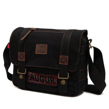 AUGUR Brand Men Messanger Bags High Quality Canvas Shoulder Male Army Military Crossbody Tote Casual Traval Bag - COFFEE