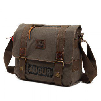 AUGUR Brand Men Messanger Bags High Quality Canvas Shoulder Male Army Military Crossbody Tote Casual Traval Bag - ARMYGREEN
