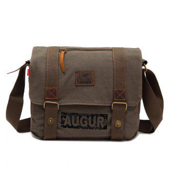 AUGUR Brand Men Messanger Bags High Quality Canvas Shoulder Male Army Military Crossbody Tote Casual Traval Bag - ARMYGREEN ARMYGREEN