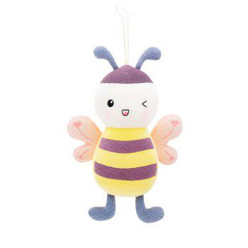 Metoo Fantasy Baby Bee Plush Doll 8 inch - PINK PINK