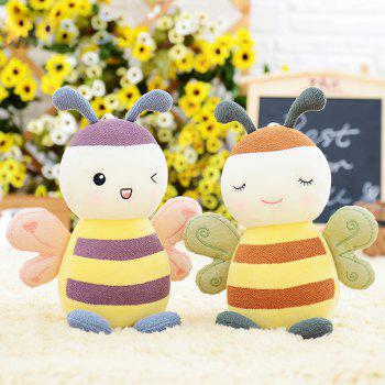 Metoo Fantasy Baby Bee Plush Doll 8 inch -  PINK