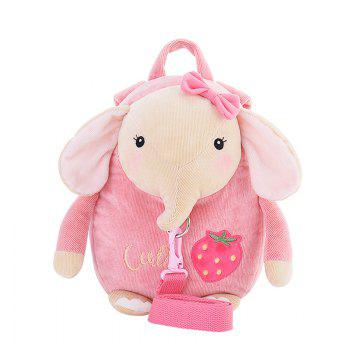 Metoo Cartoon Animal Stuffed Backpack - PAPAYA PAPAYA