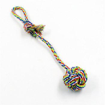 Cotton Rope Weaving Ball Pet Dog Chewing Toys