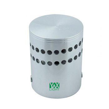 YWXLight 1W LED Wall Sconce Night Light Lamp Indoor Bedroom Decorative AC 110 - 240V - GREEN