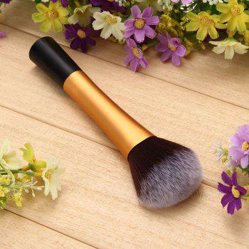 TODO Foundation Long Powder Blending Makeup Brushes - GOLDEN