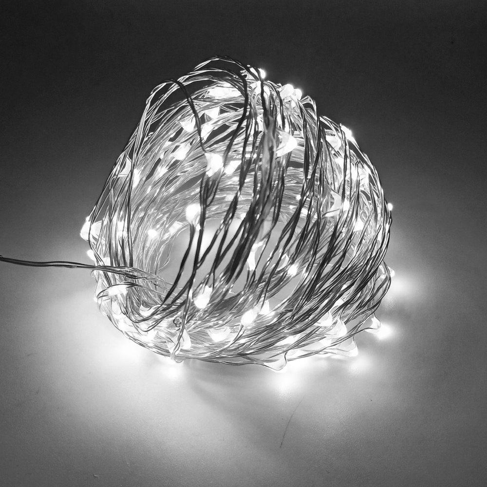 ZDM 10M USB Copper Wire Waterproof LED String Light 100 LEDs for Festival Christmas Party Decoration DC5V 10m 33ft 100 led 5v usb outdoor warm white rgb led copper wire string fairy lights christmas festival wedding party decoration
