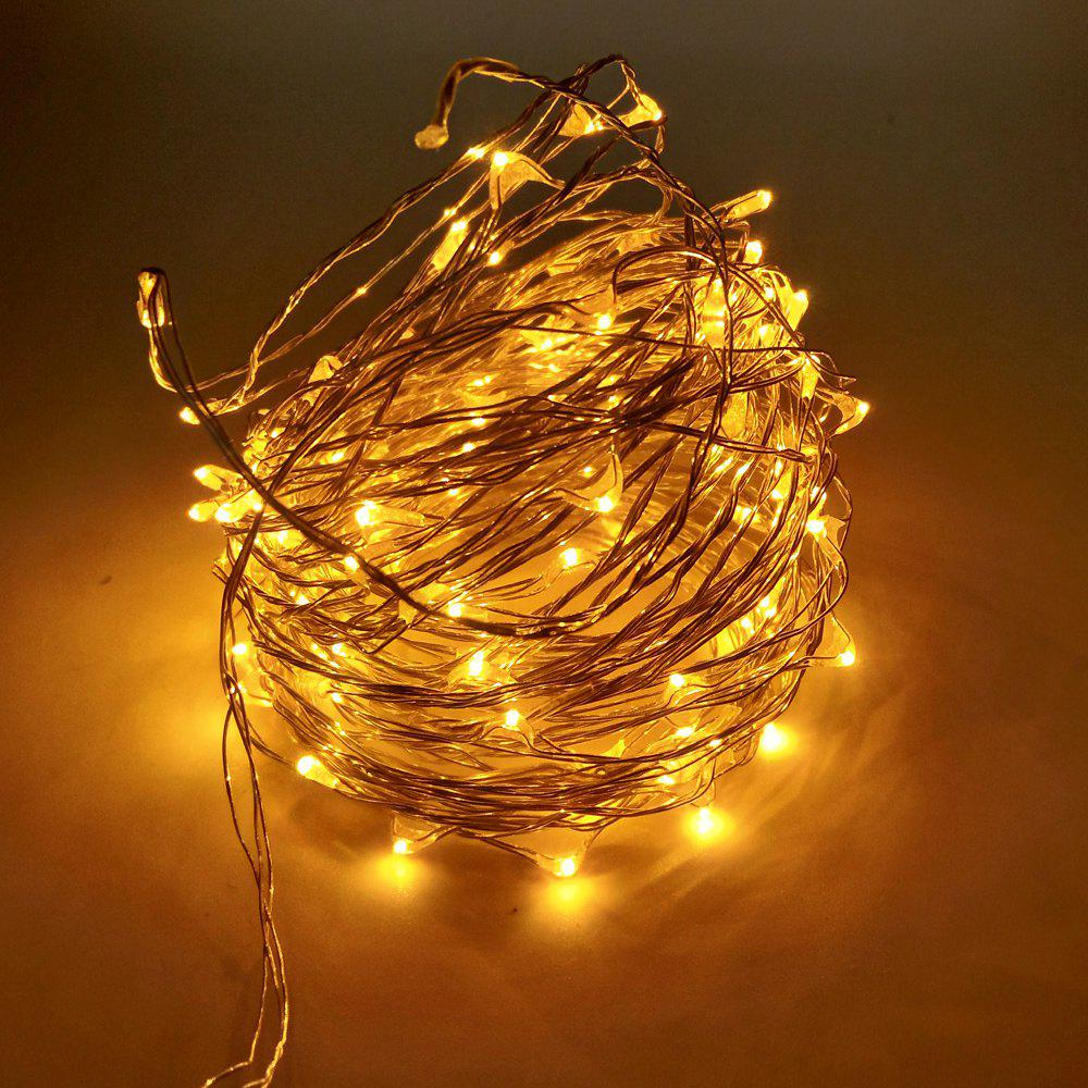 Copper Led String Lights Nz : 2017 ZDM 10M 100 LED Copper Wire String Light for Festival Christmas Party Decoration DC12V ...