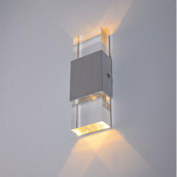 Modern Contemporary Electroplated Feature for LED Mini Style Ambient Light Wall Lamp - SILIVER