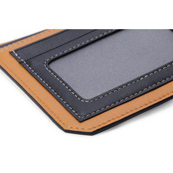 HAUT TON Genuine Leather Bifold Wallet Credit Card Holder - BLACK