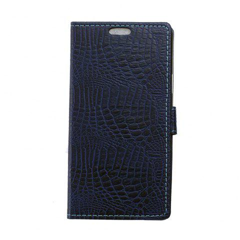 KaZiNe Crocodile Texture Wallet Stand Leather Cover For  LG NEXUS 5X - BLUE